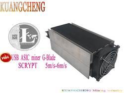 KUANGCHENG горной промышленности Бесплатная доставка Scrypt алгоритм ASIC пятно Gridseed G-Blade Litecoin лезвие Шахтер 5 м/S-6M/S