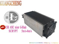 KUANGCHENG Mining Industry Free Shipping Scrypt Algorithm ASIC Spot Gridseed G Blade Litecoin Blade Miner
