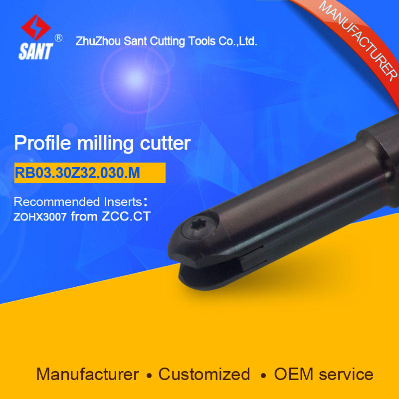 Milling tools Indexable milling cutter Match insert ZOHX3007 Profile cutter cutting disc RB03.30Z32.030.M/BMR04-0330-G32-M high quality indexable milling cutter face milling tools bmr03 025 xp25 m for carbide insert xpht25r1204