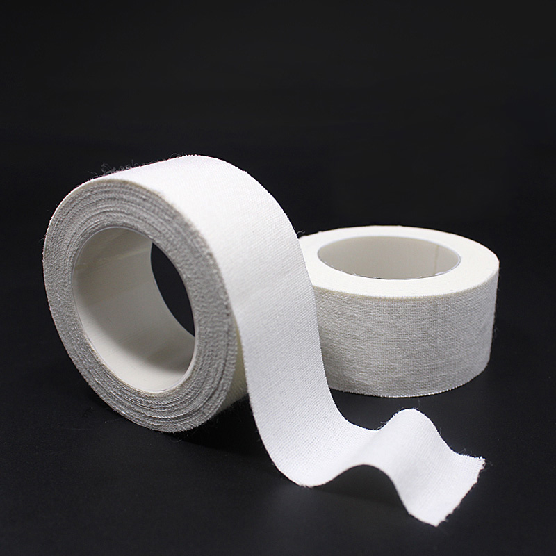 10 Rolls/Lot Medical Tape Breathable PE/Cotton/Nonwoven Paper Hypo-allergenic Tape Household Emergency First Aid Accessories