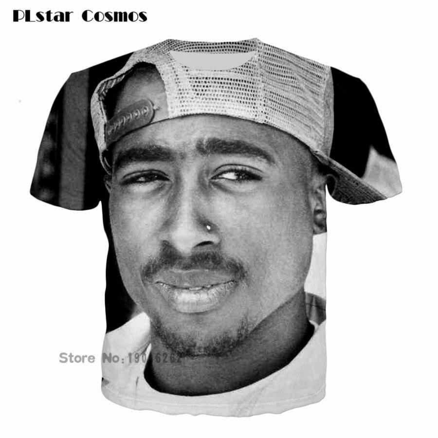 men/women/girl/boy fashion T-shirt 3D print tuge life tupac 2pac hip hop t shirt tee shirts summer tops plus size 5XL