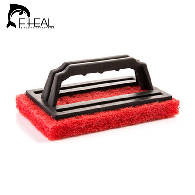Fheal 2pcs Useful Cleaning Brushes Ceramic Tile Cleaner Floor Wiper