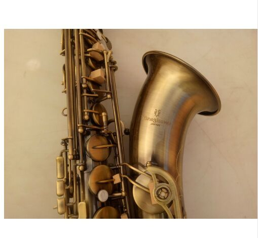 High Quality Saxophone Tenor Professional YANAGISAWA T-992 Bb Tenor Sax Antique Copper Simulation Saxofon With case Mouthpiece