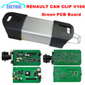 V160 Renault Can Clip Code Reader Diagnostic Scanner Professional For Renault Car From 1998~2015 Green PCB Board Stable Function