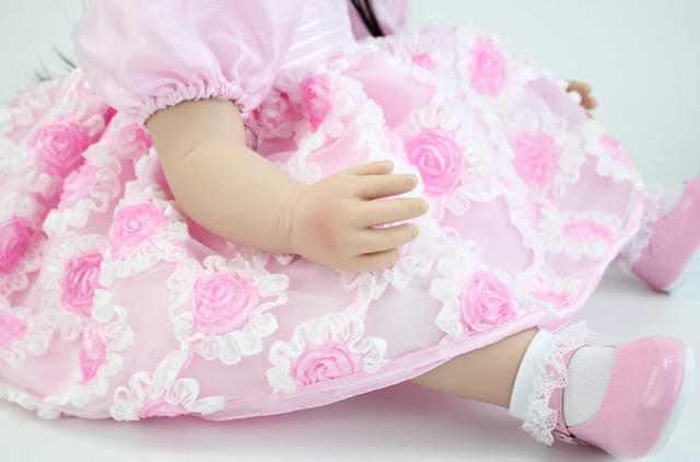 Princess Toddler Babies Dolls With Dress