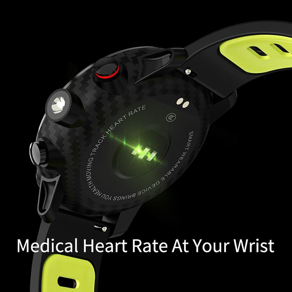 LEMFO L5 Montre Smart Watch Hommes IP68 Étanche Veille 100 Jours Plusieurs Sports Mode Surveillance de la Fréquence Cardiaque Prévisions Météo Smartwatch - 6