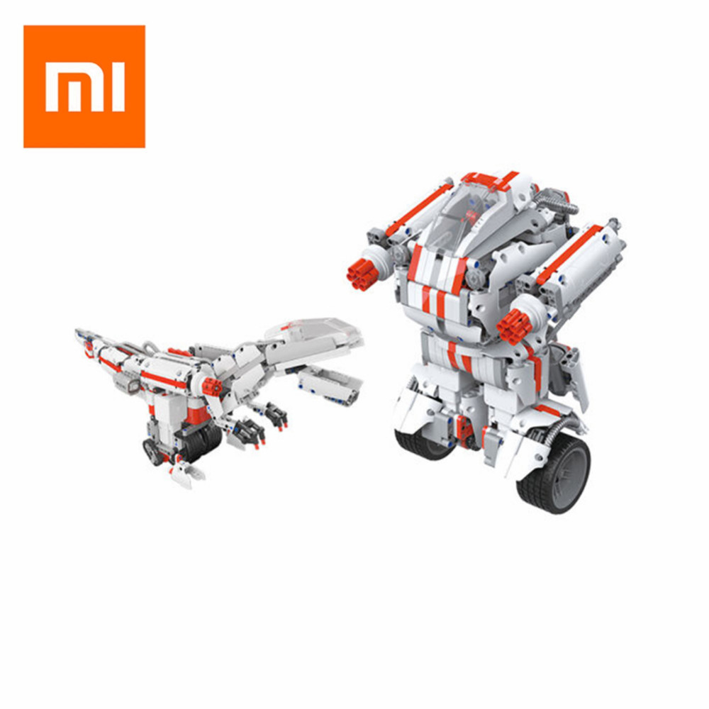 Xiaomi Mitu Robot DIY Mobile Remote Control Self-Assembled Robot Toy Building Block Robot Bluetooth Mi Robot Toys for Children mpso and mga approaches for mobile robot navigation