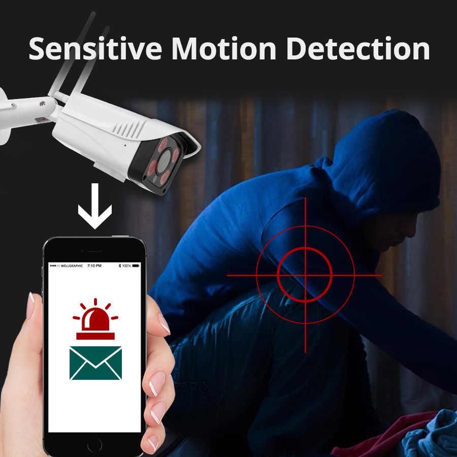 KERUI Smart IP CCTV Camera WIFI Wireless P2P PTZ Security Camera Outdoor IP66 Waterproof SD Card Storage Night Vision Monitor