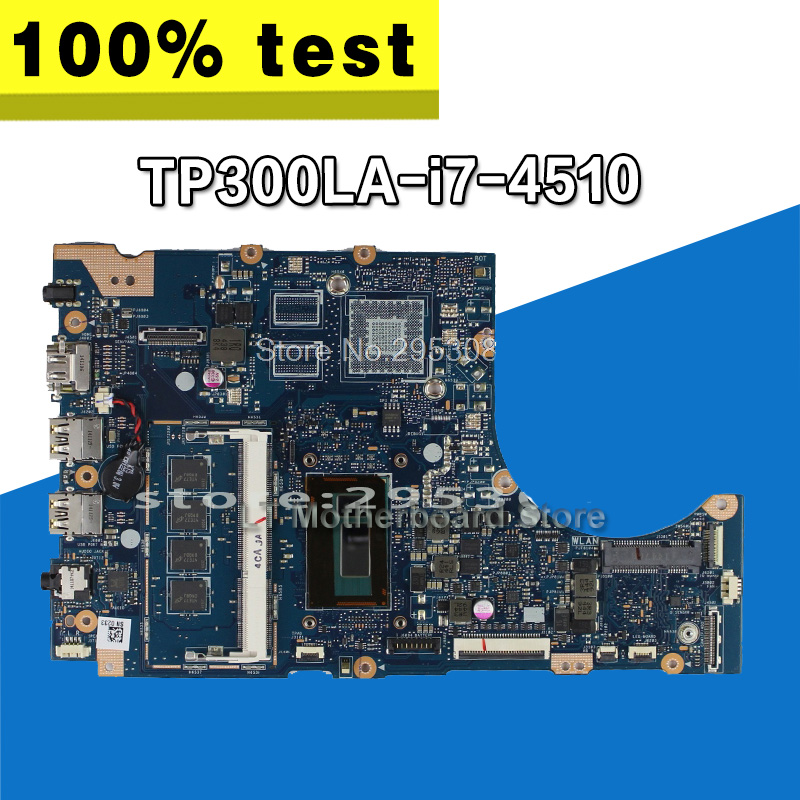 send USB board+TP300LA GM -I7-4510-4G RAM Motherboard For ASUS  Q302L Q302LA TP300L TP300LD TP300Lj Notebook notebook mainboardsend USB board+TP300LA GM -I7-4510-4G RAM Motherboard For ASUS  Q302L Q302LA TP300L TP300LD TP300Lj Notebook notebook mainboard