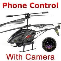 Бесплатная доставка 3.5ch Iphone телефон Android Дистанционного Управления RC Вертолет мультикоптер с Камерой я-Вертолет WL Игрушки s215 FSWB