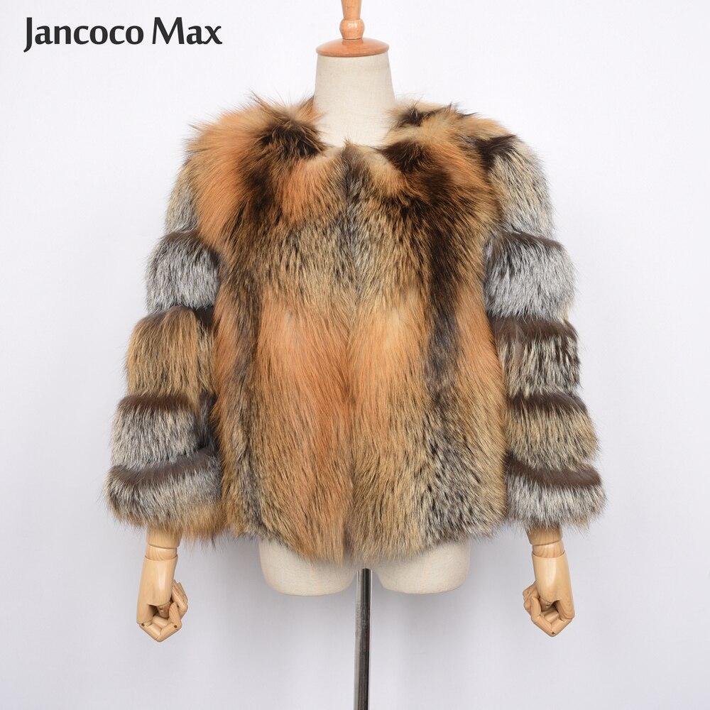 A Réel Femmes Fourrure Luxe Fox Naturelle De Arrivée 2019 Top Nouvelle S7464 B Survêtement color D'hiver Red color Color C Qualité Manteau xvvTqIwg