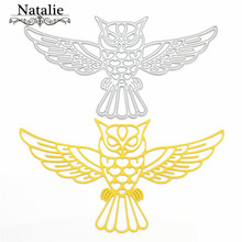 Metal Owl Cutting Dies Stencils For DIY Scrapbooking Photo Album Decorative Embossing Paper Cards Craft