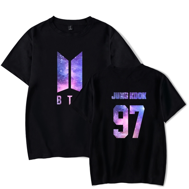 BTS (Bangtan Boys) Galaxy Band Member T-Shirt