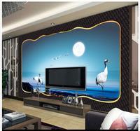 3D Wall Murals Wallpaper Custom Picture Mural Wall Paper Dream Fairyland Feixian TV Backdrop Wall Decoration
