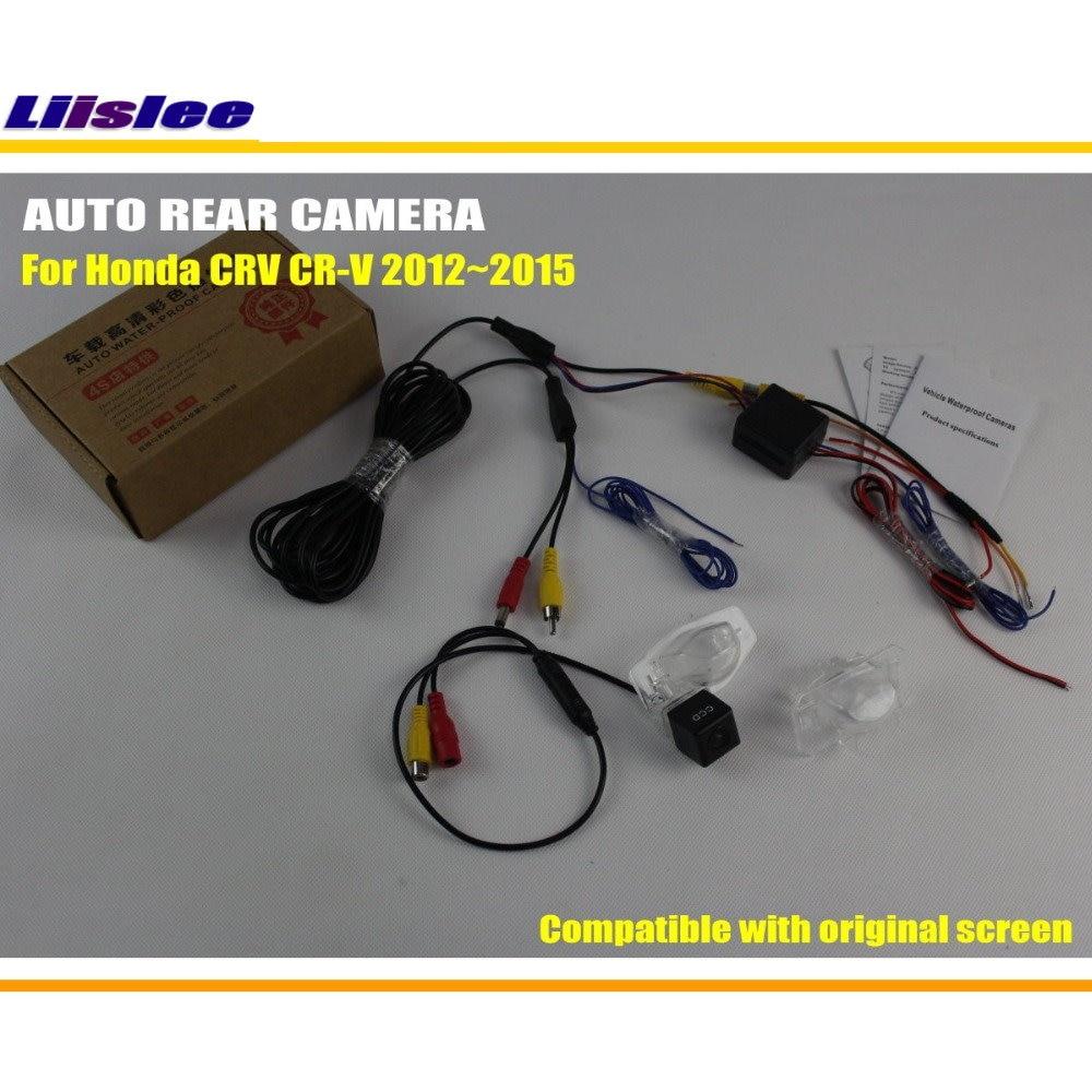 Liislee Vista posterior del auto Copia de seguridad de cámara - Electrónica del Automóvil - foto 2