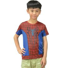 Moto Brand clothing wholesale outlets spider-man spider-man 2016 children's clothing factorye children with short sleeves