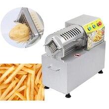 Household and commercial electric cutting fries machine sweet potato radish potato cutting machine automatic fries machine