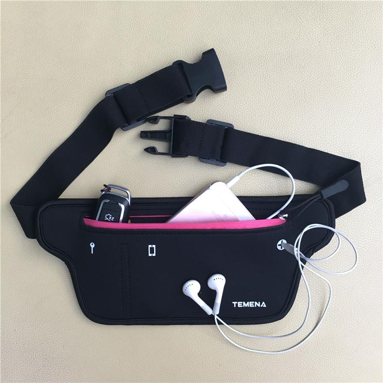 Men Women Running Waist Belt Bag Phone Holder Jogging Fanny Packs Gym Fitness Bags Sport Running Accessories Marathon Bag
