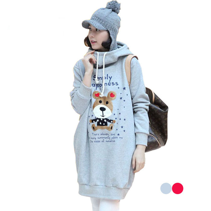 2015 new design Autumn coat maternity for pregnant women,thicken style