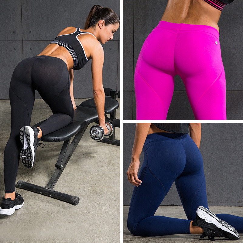 Women In Yoga Pants Working Out Pi Pants