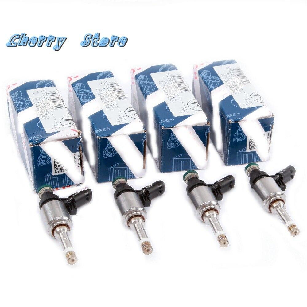 NEW 06H 906 036 P EA888 Fuel Injector Valve Injector Nozzle For VW Golf  Jetta Passat Audi A3 A4 A6 Q3 Q5 Skoda 2 0T 06H906036E