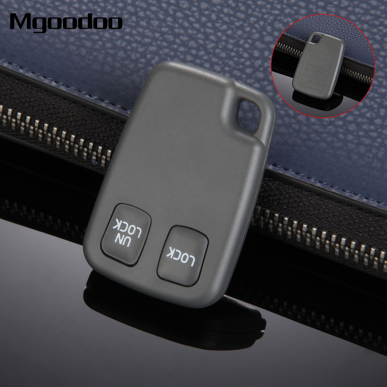 Mgoodoo 2 Button Car Remote <font><b>Key</b></font> Blank Fob Case For <font><b>VOLVO</b></font> C70 <font><b>S40</b></font> S60 S70 S80 S90 V40 V70 V90 XC70 XC90 <font><b>Replacement</b></font> Car <font><b>Key</b></font> Shell image