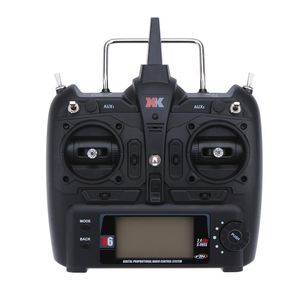 LeadingStar XK K100 K110 K120 K123 124 RC Helicopter Transmitter Remote Controller/ Flight Controller RC Transmitter zk49 xk k123 rc helicopter parts receiver base set xk 2 k123 013