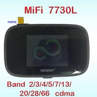 unlocked NOVATEL wireless MiFi 7730L JETPACK 4g portable wifi hotspot 4g mifi 7730 wifi repeater 5ghz with sim card slot 3g cdma