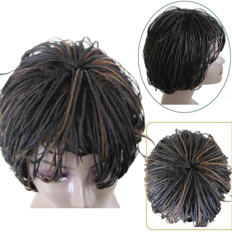 African American Twist Crochet Braids Wig