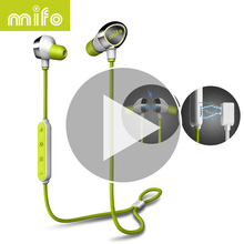 Magnetic Workout Sport Bluetooth Earphone Running Earbuds Stereo Music In-Ear Wireless Headset Active Noise Cancelling Earpiece