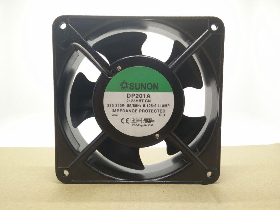 New Original SUNON PD201A 2123HBT.GN 120*120*38MM 220-240V double ball cabinet cooling fan new original sunon eg50060s1 c000 s99 lxo0791002 dc5v 1 15w cooling fan
