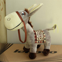 Soft Simulation Donkey Plush Toys Cute Animal Stuffed Dolls Kawaii Gift For Kids Toys