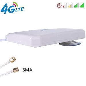 Image 3 - Kuwfi 4 4g lteアンテナ35dBi smaコネクタ長距離ネットワークと吸引カップのための4 3gモデム/ルータ/ホットスポットとsmaオスc