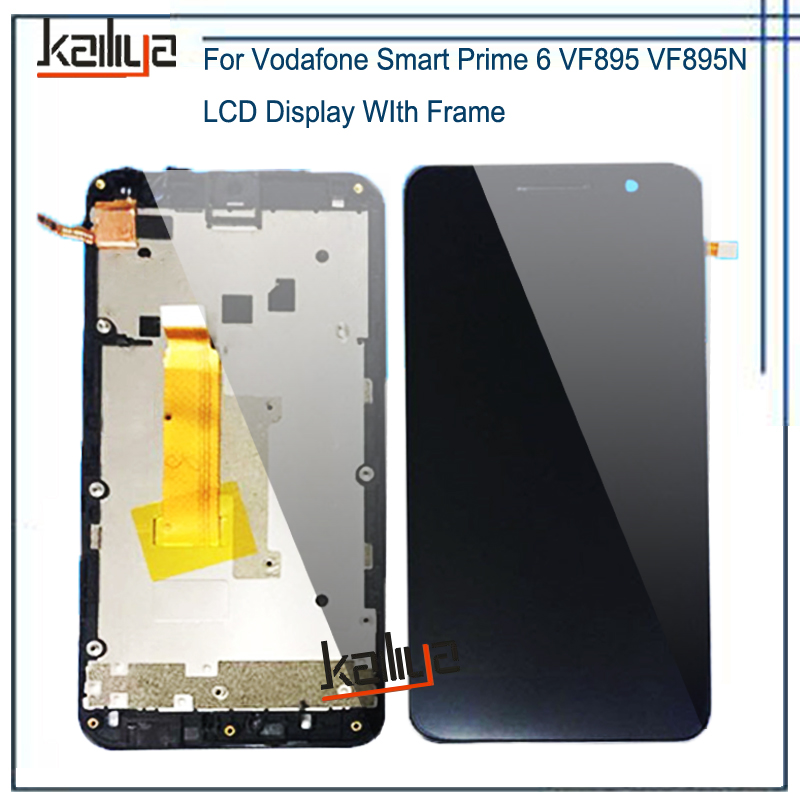 Touch Screen and LCD Display For Vodafone Smart Prime 6 VF895 VF895N Lcd screen display+Touch digitizer with frameTouch Screen and LCD Display For Vodafone Smart Prime 6 VF895 VF895N Lcd screen display+Touch digitizer with frame