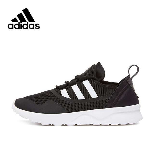 competitive price b92db 59dad US $135.92 15% OFF|Adidas Official New Arrival 2017 Originals ZX FLUX  Women's Skateboarding Shoes Sneakers BB2285 BB2286-in Skateboarding from  Sports ...