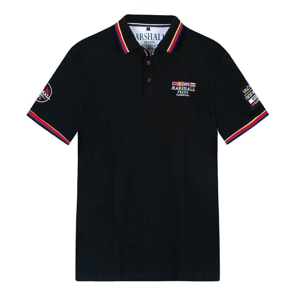 Hommes Polo d'été 2019 marque hommes mode coton à manches courtes polos hommes solides hauts t-shirts
