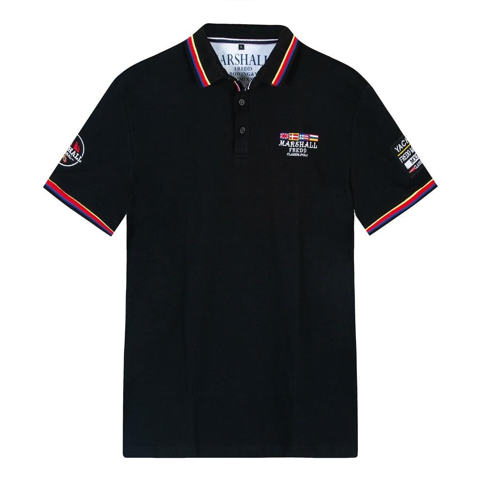 Men Summer   Polo   Shirt 2019 Brand Men's Fashion Cotton Short Sleeve   Polo   Shirts Male Solid Tops Tees
