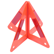 Car Emergency Breakdown Warning Triple-cornered Sign Red Reflective Safety Hazard Travel in