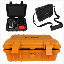 HOLACA portable safety hard gopro case Shockproof sports action camera sj4000 box Protective xiaoyi bag WATERPROOF with foam set