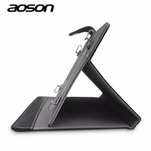 10 inch Universal PU Leather Stand Cover Case Protective Skin for Aoson Android Tablet PC