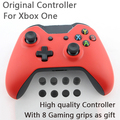 Red Wireless Controller without 3.5mm headphone Jack for XBOX ONE Gamepad for Microsoft XBOX One Controller With 8 gaming grips