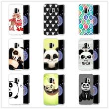 silicone case cover For Samsung Galaxy S9 S9Plus S8 Plus S7 edge Note 8 soft tpu phone case 360 full protective cute coque E013