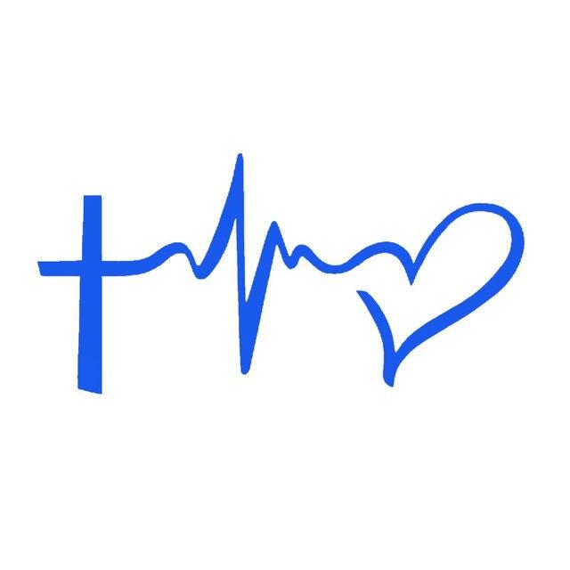 Online-Shop HotMeiNi Glaubenhoffnungs Liebe Symbol Herz Jesus Kreuz ...