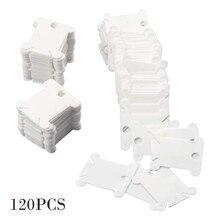 120 шт. стойка для бобин для вышивки крестиком органайзер для ниток швейные инструменты аксессуар рамка для вышивки обмоточная пластина доска
