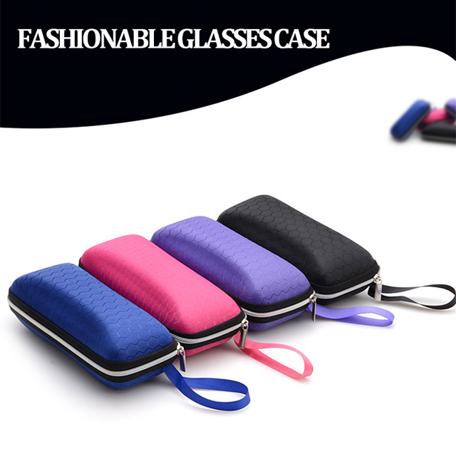 New multi-color quality car interior products EVA glasses case Color zipper sunglasses box Glasses Case
