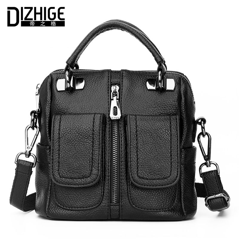 DIZHIGE Brand Women Leather Handbags Designer Women Bag Tote High Quality Shoulder Bags Luxury Ladies Hand Bags 2018 Sac Femme mengxilu brand tote luxury handbags women bags designer handbags high quality pu leather bags women crossbody bag ladies new sac