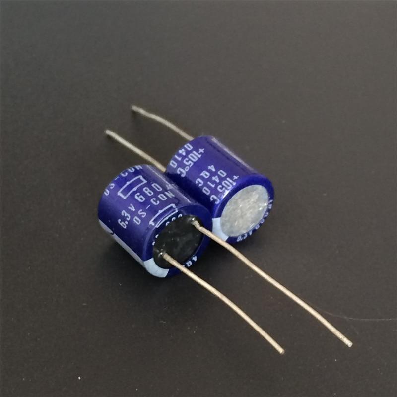 5pcs 680uF 6.3V Japan NCC OS-CON 10x10mm Low ESR 6.3V680uF Solid Capacitor
