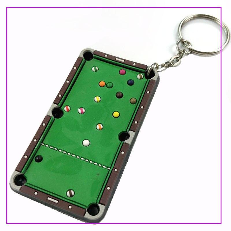 MagiDeal Mini Billiard Ball Snooker Tabletop Pool Table Desktop Game - Pool table key