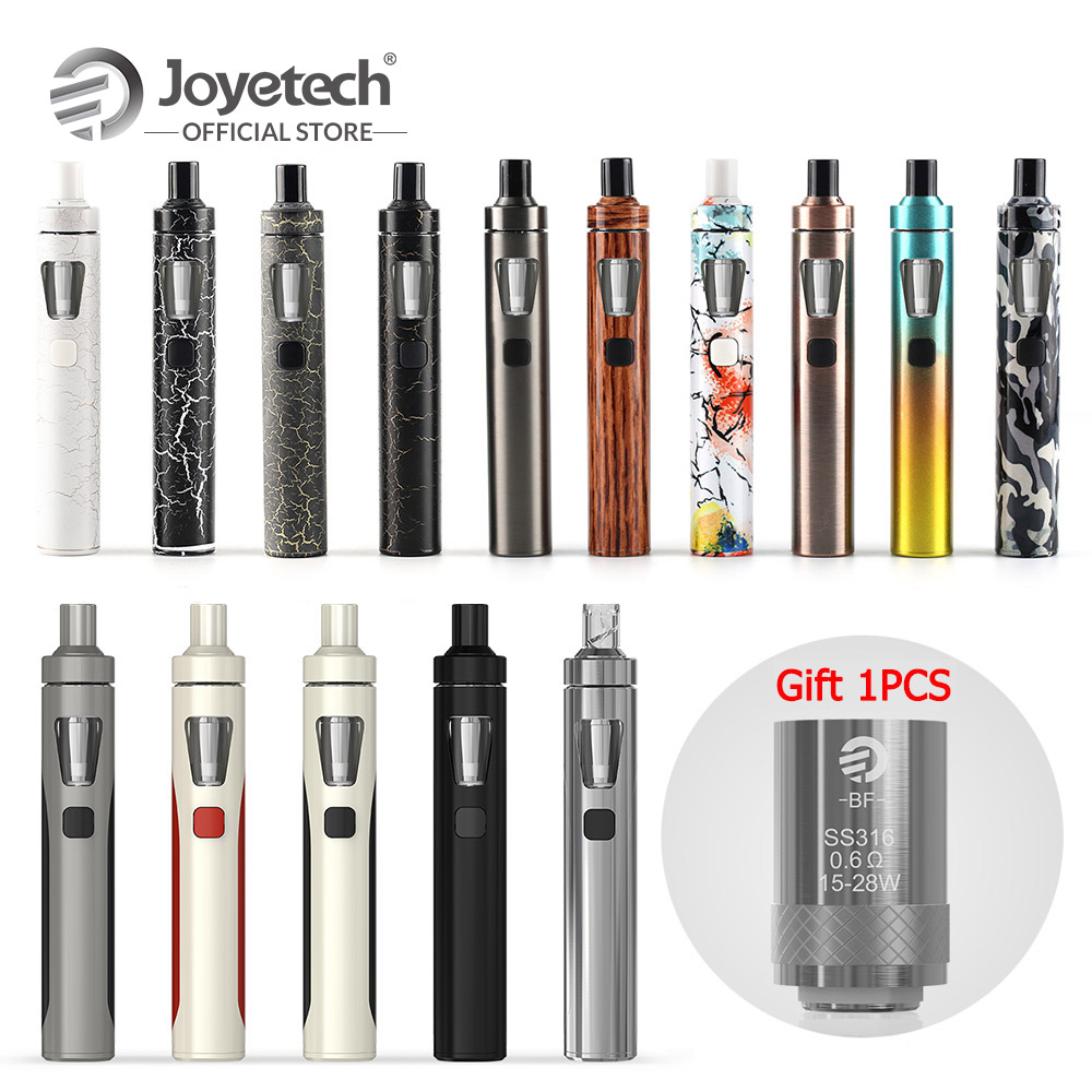Original Joyetech eGo AIO Kit Gift 1 PCS BF SS316 0.6ohm With 1500mah Build in Battery in 2ml All-In-One Electronic Cigarette
