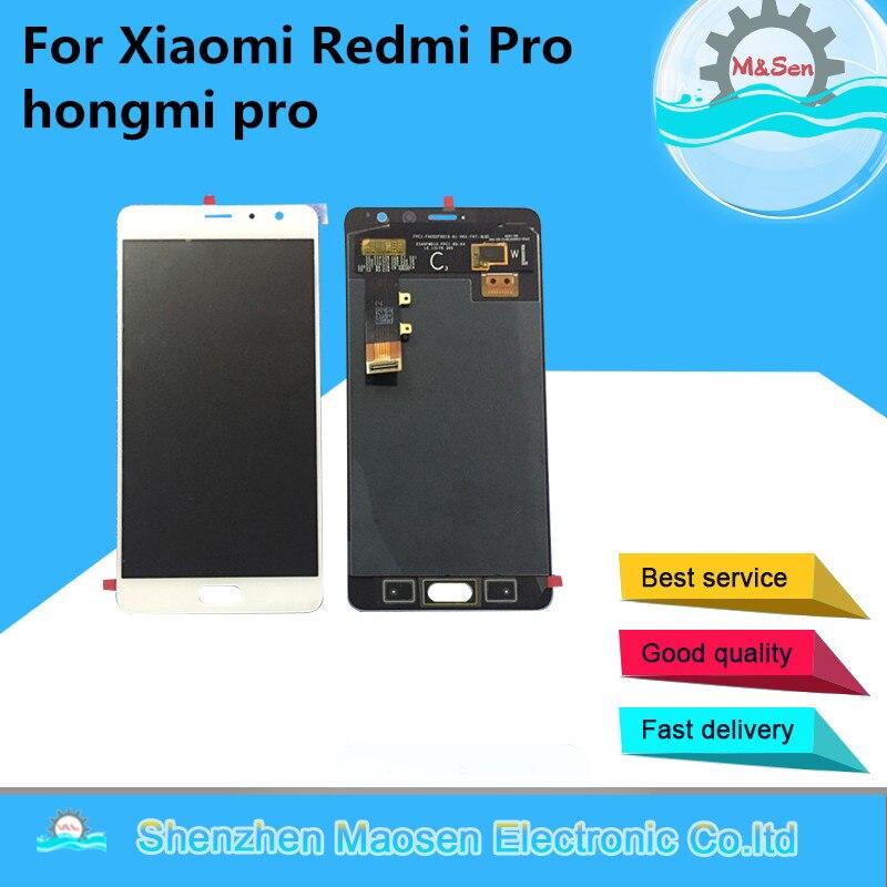 D'origine M & Sen OLED Pour 5.5 Xiaomi Redmi Pro LCD écran de visualisation + numériseur à écran tactile Pour Redmi Pro Assemblée écran LCD